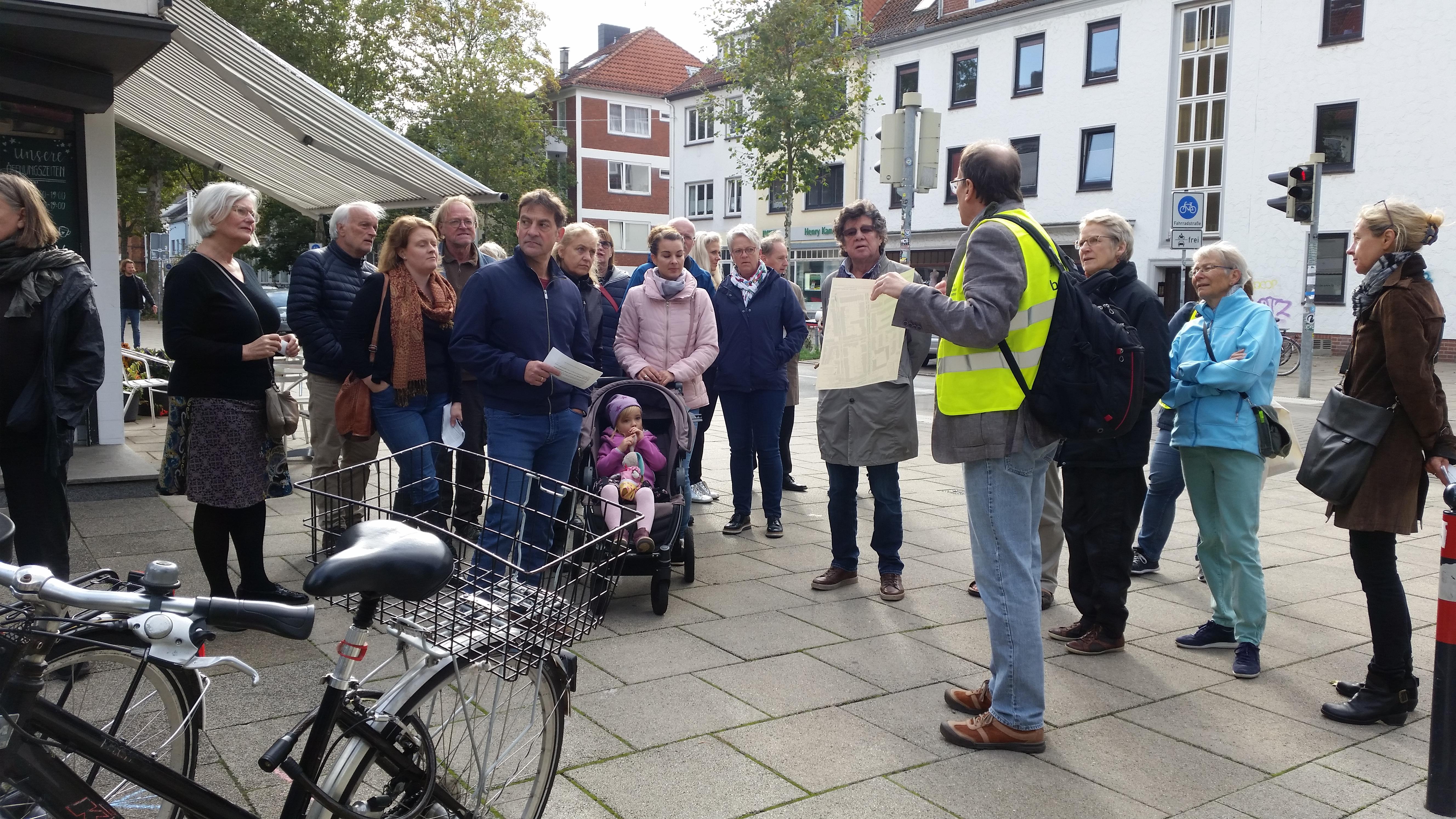 Straßenbegehung Bewohnerparken